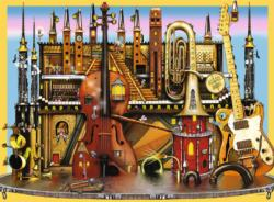 Music Castle Music Jigsaw Puzzle
