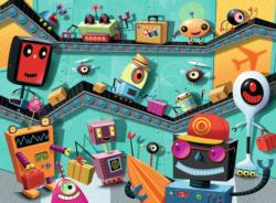 Robots Cartoons Children's Puzzles
