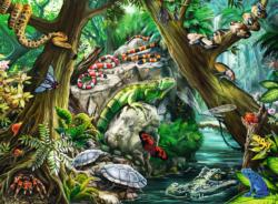 Creepy Crawlies Snakes Jigsaw Puzzle