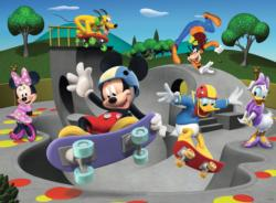 At the Skate Park (Mickey & Minnie) Disney Large Piece