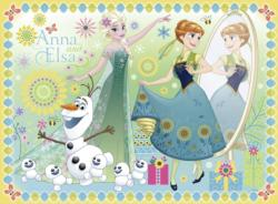 Frozen Fever Snowman Children's Puzzles