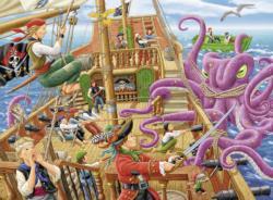 Pirate Boat Adventure Pirates Children's Puzzles
