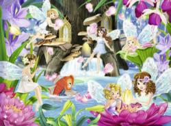 Magical Fairy Night Lakes / Rivers / Streams Children's Puzzles