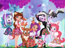 Enchantimals  (100 pc Puzzle) Cartoon Children's Puzzles
