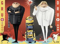 Gru and Dru (Despicable Me3) Movies / Books / TV Children's Puzzles