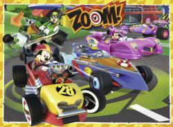 Go Mickey! Cars Children's Puzzles