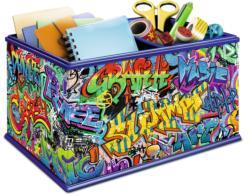 Strorage Box - Grafitti Contemporary & Modern Art 3D Puzzle
