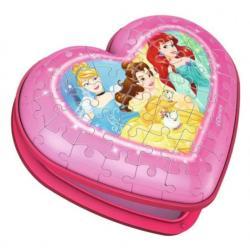 Heart Case - Disney Princess Disney 3D Puzzle