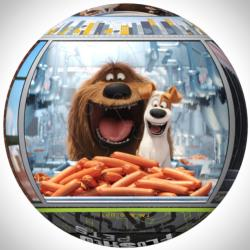 Secret Life of Pets Movies / Books / TV Shaped Puzzle
