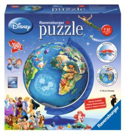 Disney Globe Maps Children's Puzzles