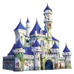 Disney Castle Princess Plastic Puzzle