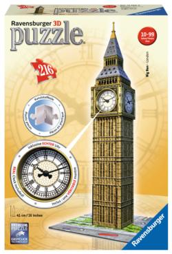 Big Ben Clock - Scratch and Dent London Jigsaw Puzzle