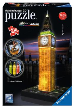 Big Ben - Night Edition London Plastic Puzzle