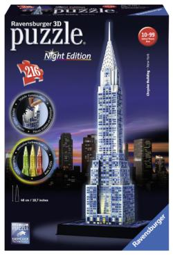 Chrysler Building (Night Edition) New York Jigsaw Puzzle