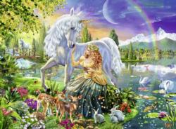 Gathering at Twilight Unicorns Children's Puzzles