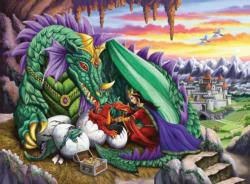 Queen of Dragons Dragons Children's Puzzles