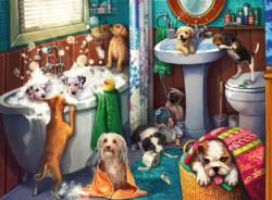 Tub Time Dogs Large Piece