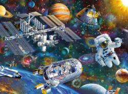 Cosmic Exploration Science Jigsaw Puzzle