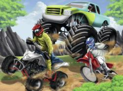 Power Vehicles Motorcycles Jigsaw Puzzle