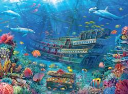 Underwater Discovery Titanic Jigsaw Puzzle