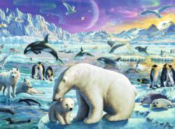 Polar Animals Animals Children's Puzzles