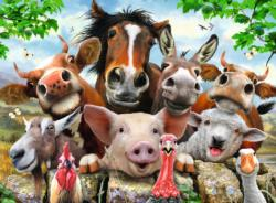 Say Cheese! Farm Animals Jigsaw Puzzle
