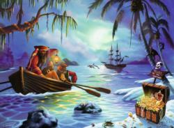 Moonlit Mission Seascape / Coastal Living Children's Puzzles