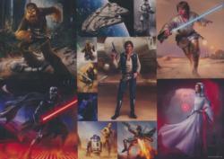 Millennium Falcon Star Wars Large Piece