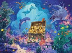 Deep Sea Treasure Dolphins Children's Puzzles
