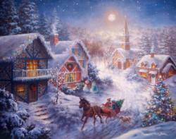 Dashing through the Snow Family Puzzle