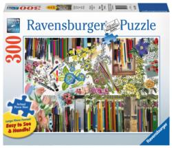 Color with Me Flowers Coloring Puzzle