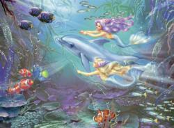 Little Mermaids Mermaids Children's Puzzles
