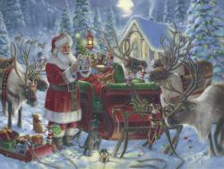 Packing the Sleigh Christmas Jigsaw Puzzle