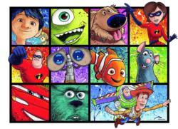 Splatter Art Disney Jigsaw Puzzle