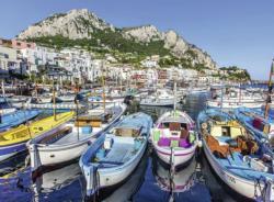 Colorful Marina Boats Jigsaw Puzzle