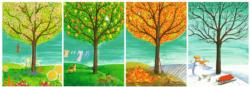 Four Seasons Nature Panoramic Puzzle