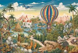 Hot Air Hero Landscape Jigsaw Puzzle