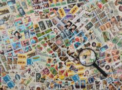 Stamps Challenge Everyday Objects Jigsaw Puzzle