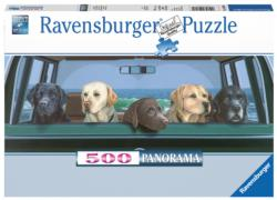 All Labs Matter Dogs Panoramic Puzzle