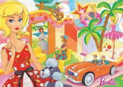Vintage Barbie Nostalgic / Retro Jigsaw Puzzle