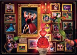 Villainous: Queen of Hearts - Scratch and Dent Valentine's Day Jigsaw Puzzle
