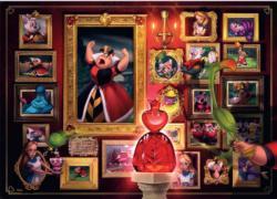 Villainous: Queen of Hearts Disney Jigsaw Puzzle