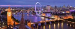 London at Night London Panoramic Puzzle