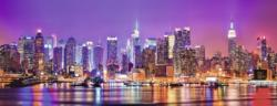 Manhattan Lights New York Panoramic Puzzle