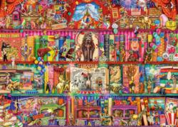 The Greatest Show on Earth Collage Jigsaw Puzzle