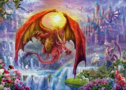 Dragon Kingdom Dragons Jigsaw Puzzle