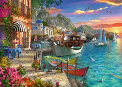 Grandiose Greece Seascape / Coastal Living Jigsaw Puzzle