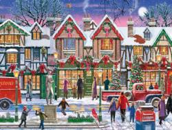Christmas in the Square Christmas Jigsaw Puzzle