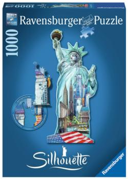 Statue of Liberty New York Shaped