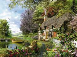 Country Cottage Cottage / Cabin Jigsaw Puzzle